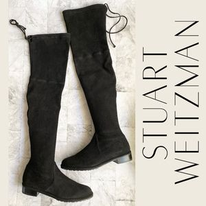 NEW Stuart Weitzman Lowland Over the Knee Boots